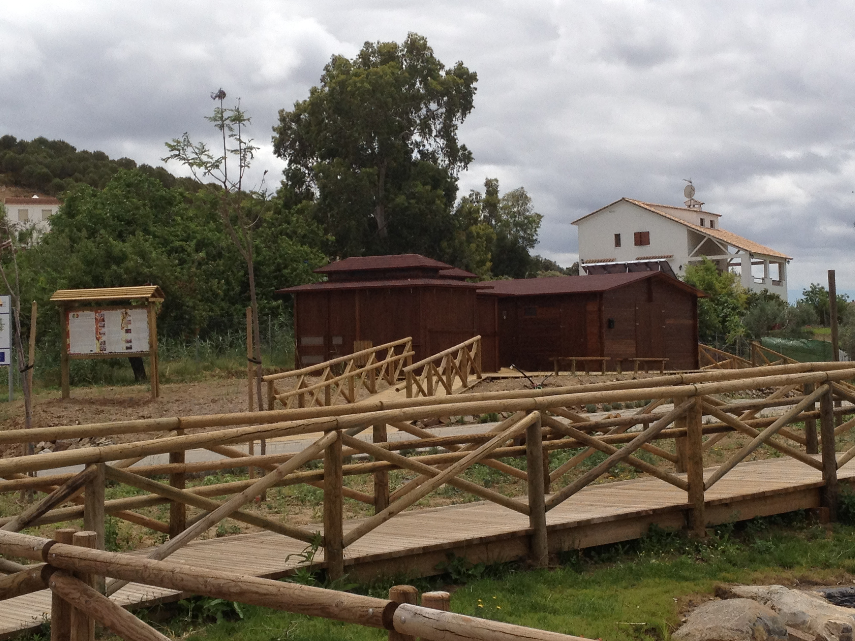 Vallas de madera maderas puente - Valla de madera ...
